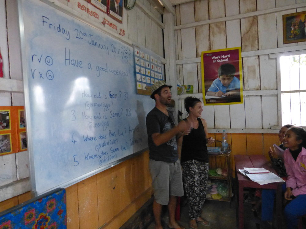 Volunteer teacher