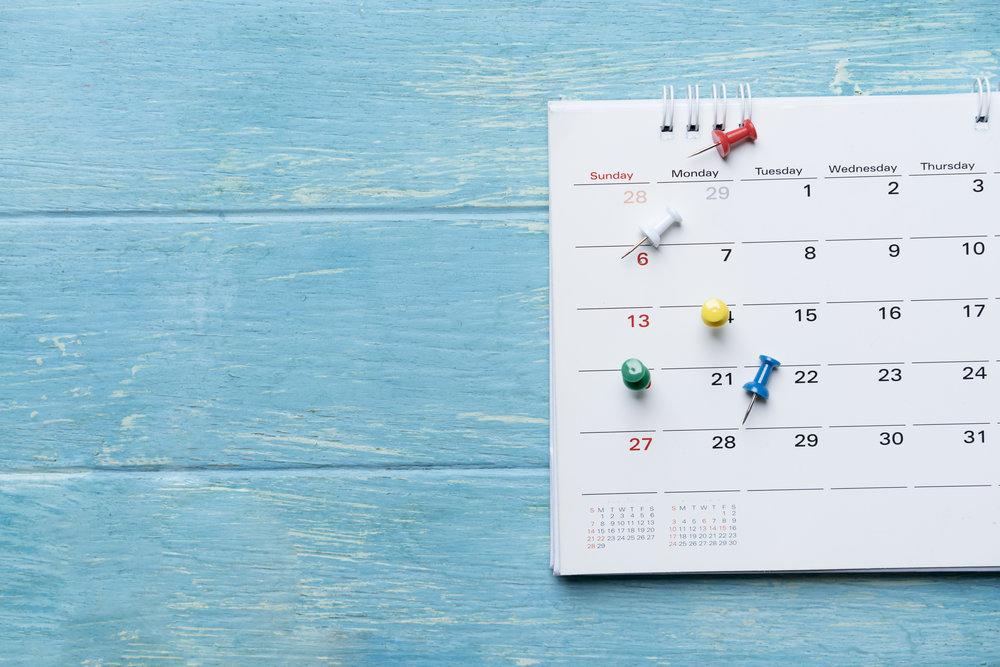 Schedule Good Deeds