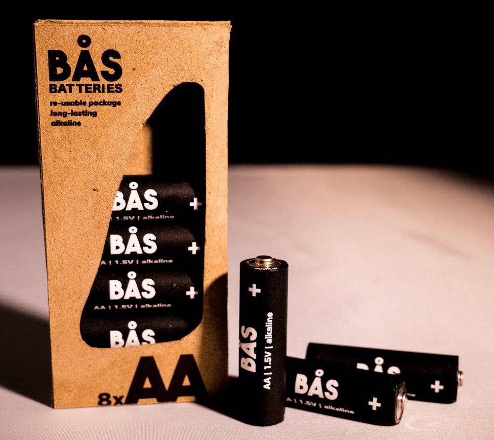Bas Batteries | Package Design