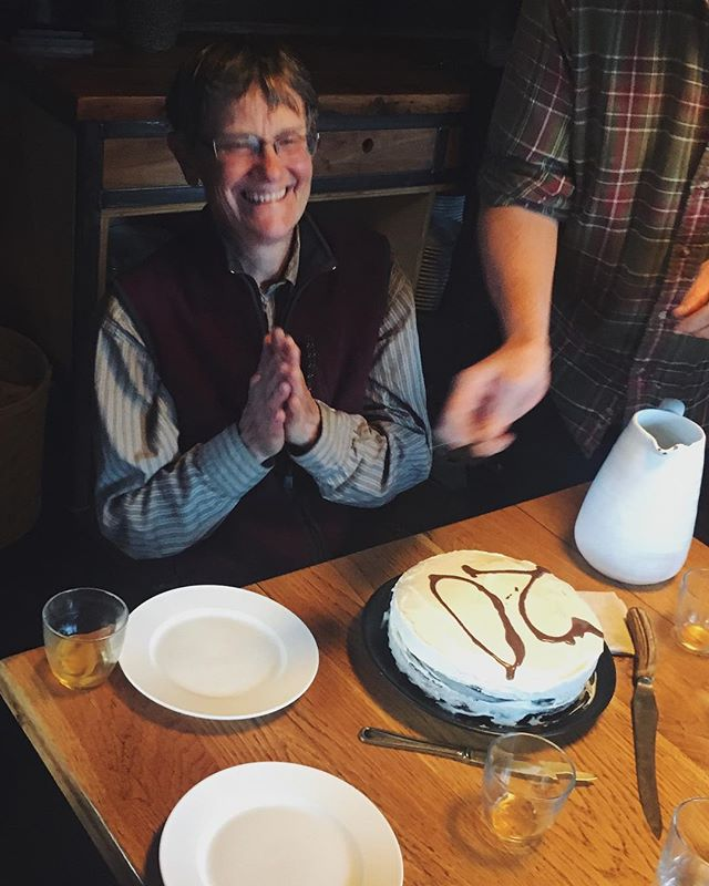 Hurray for Laura who has been at the Darwin for 20 years 🎉 What would we do without you? #darwinranch #duderanch #ranchlife #celebration #wyoming #20years