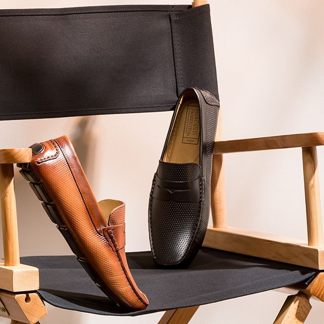 Bring the action in these stylish slip-ons. . . . . #mercantifiorentini #mymercanti #mercantishoes #leatherloafers #loafers #staycomfy #slipons #mensshoes