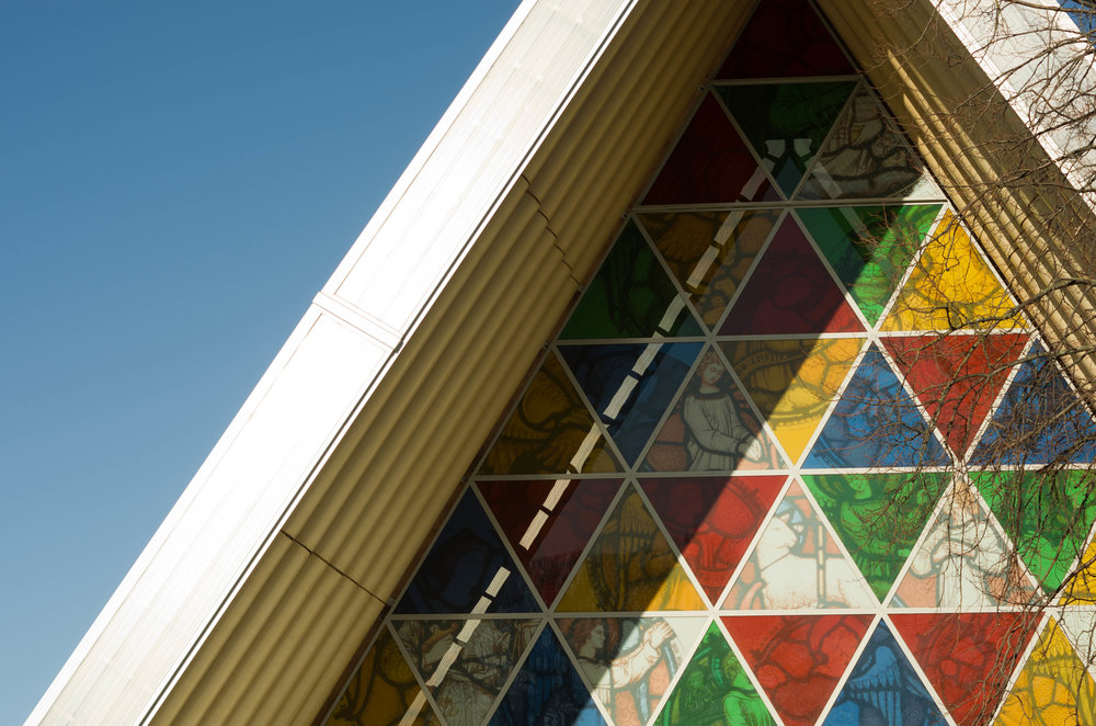 The Cardboard Cathedral, Christchurch, New Zealand