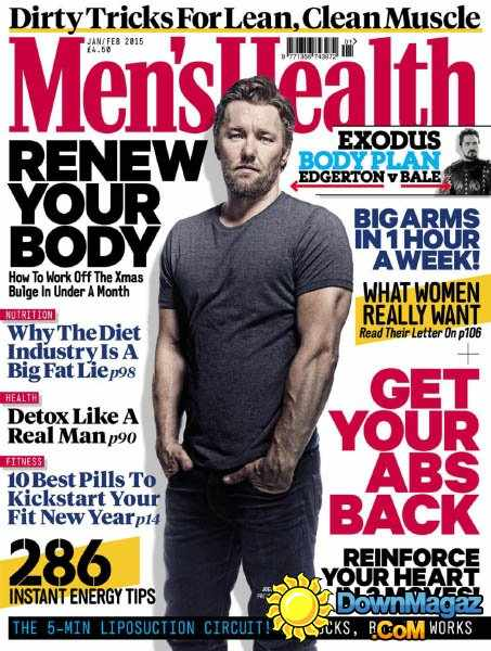 Co Founder of P4 Body Dylan Jones appears in Men's Health..