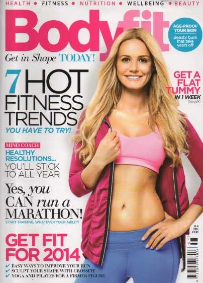 P4 Co-Founder Linda Jones demonstrates the best post pregnancy workout in Bodyfit magazine