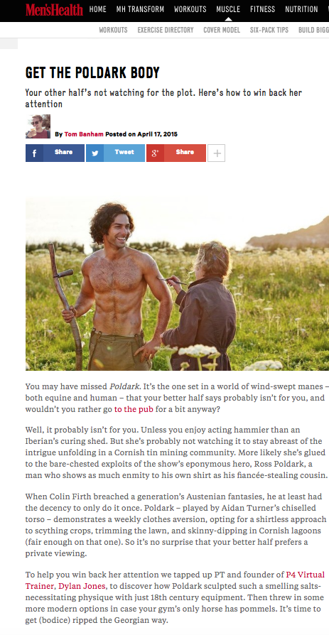 P4 Co-Founder Dylan Jones advises how to get the Poldark body in Men's Health.png
