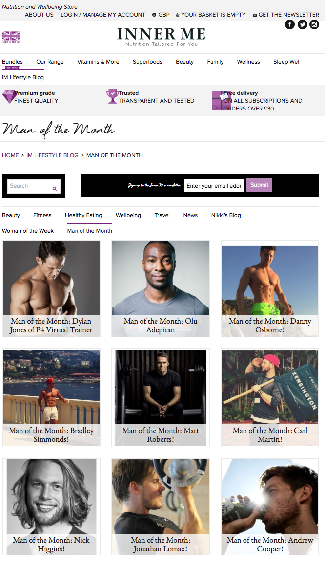 P4 Virtual Trainer Founder features as man of the month - Inner me