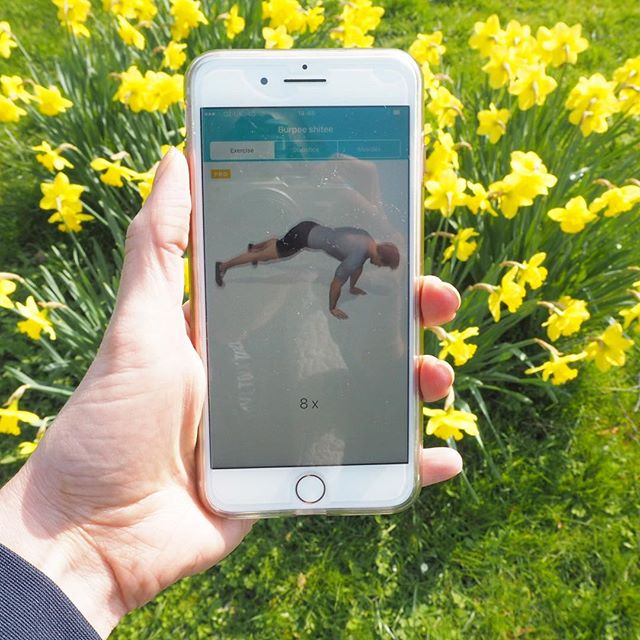 SUNSHINE workout today and loving it! Save time and get to enjoy some rays by working out in the garden or park with us in your pocket! Don't forget you have access to a #p4body coach and all@of your programmes are 100% bespoke and tailored to you! #p4body