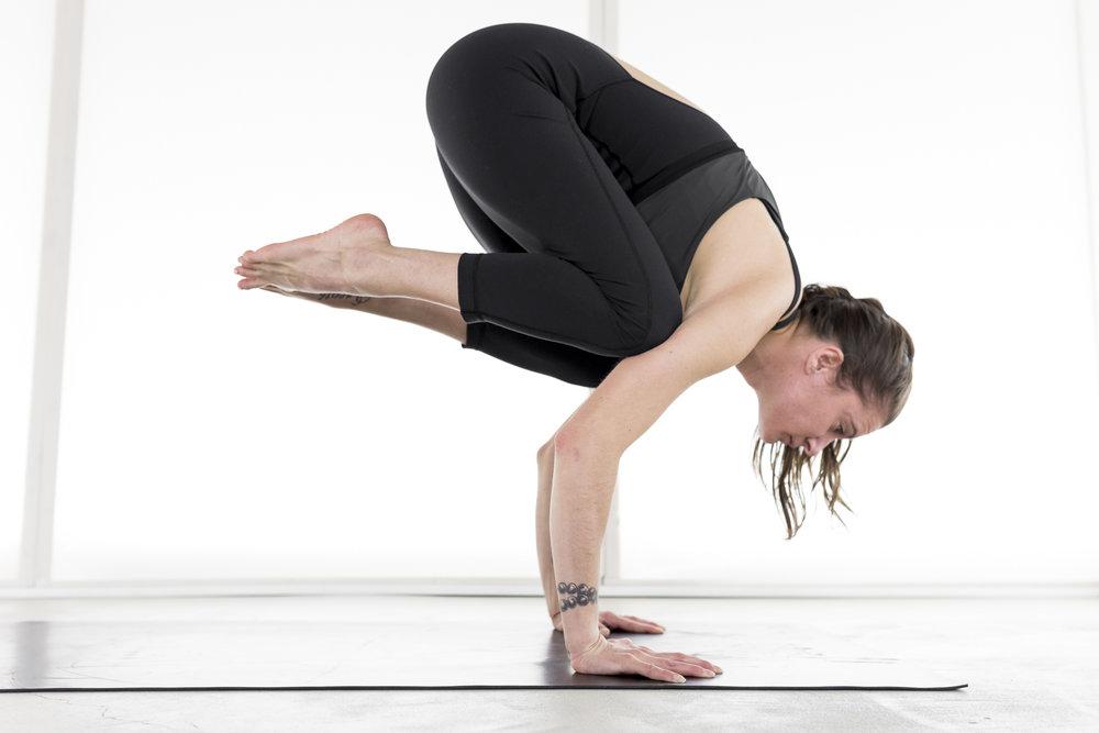 edmonton yoga - bakasana