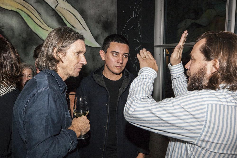 Neville Wakefield, Ivan Argote, and Matthew Schum.jpg