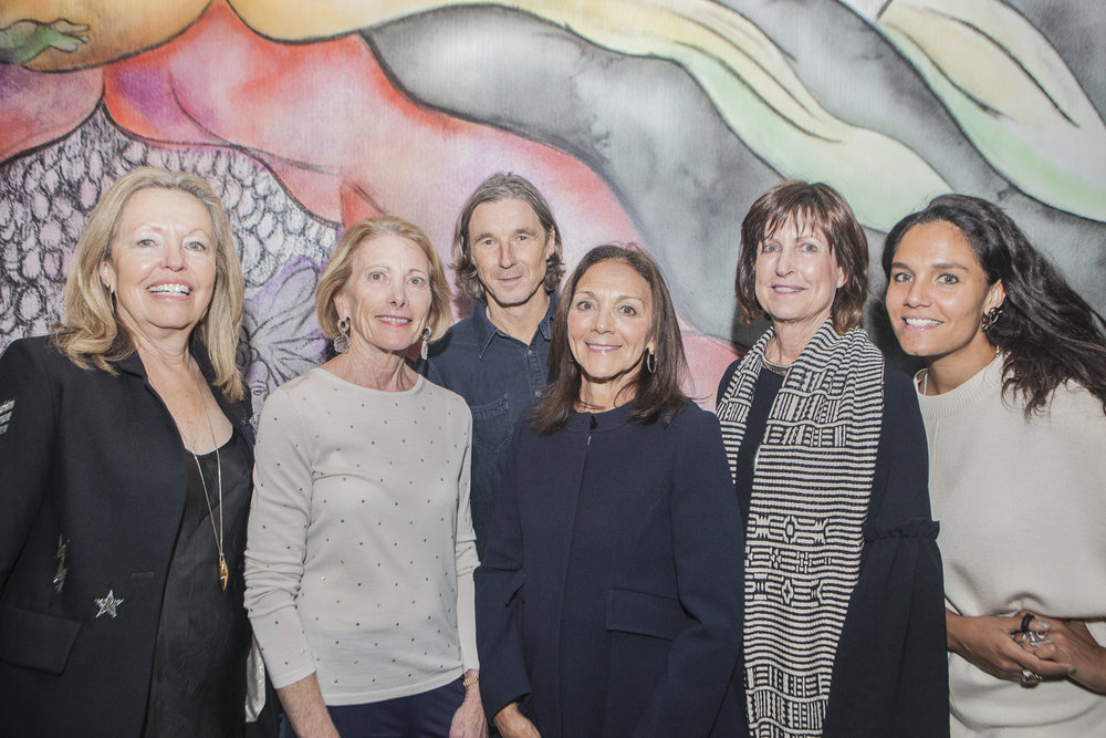 Susan Davis, Vicki Hood, Neville Wakefield, Sally Kovler, Linda Usher, and Zoe Lukov.jpg