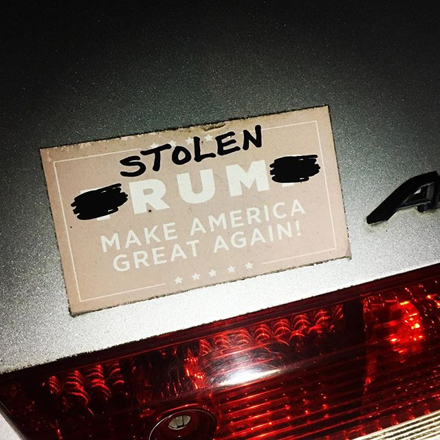 @thisisstolen has the best branding! Love how they're engaging their audience with creative, fun artifacts on timely and relevant topics. Way to go! 👏🏻👏🏻👏🏻 #loveit #stolenrum #bumperstickerwisdom #branding #brandidentity #brandingsuccess #successfulbranding