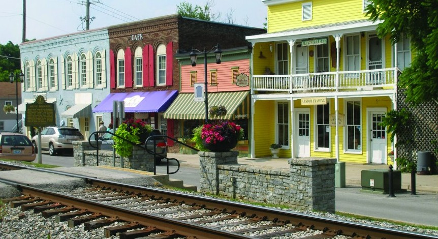 Beautiful Midway, KY, which blossomed with the development of the railroads offers a quintessential look at small-town Kentucky.