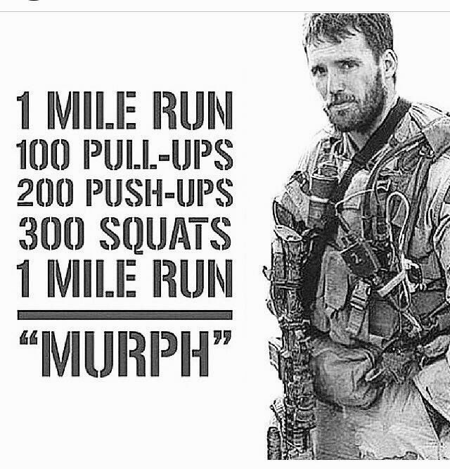 Happy Memorial Day - Murph is on the calender