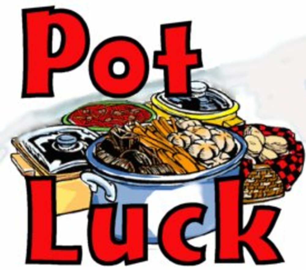 Potluck this Saturday 4pm - ???