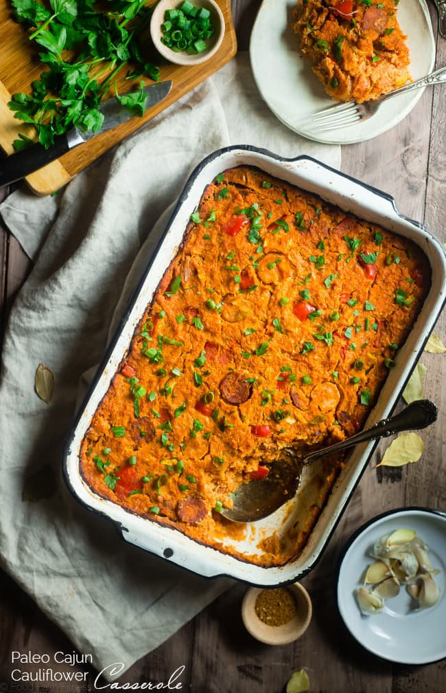 Recipe of the week - Cajun Cauliflower Casserole