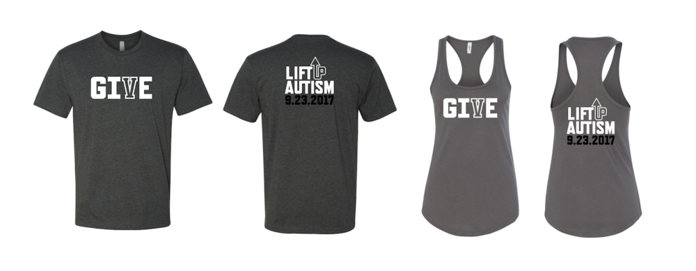 Sign up and donate to get one of these shirts!