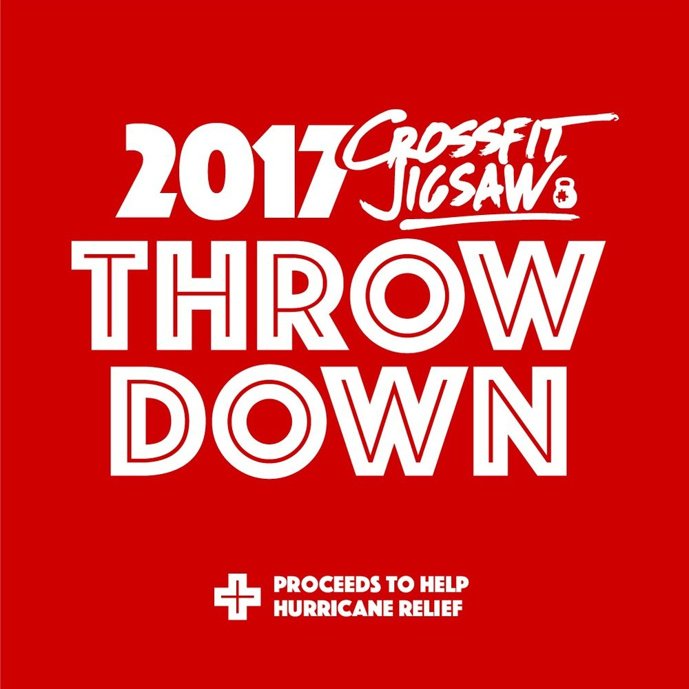 Jigsaw throwdown happens on Saturday 10/21