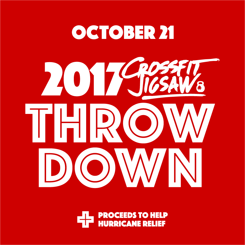 2017 Jigsaw throwdown today