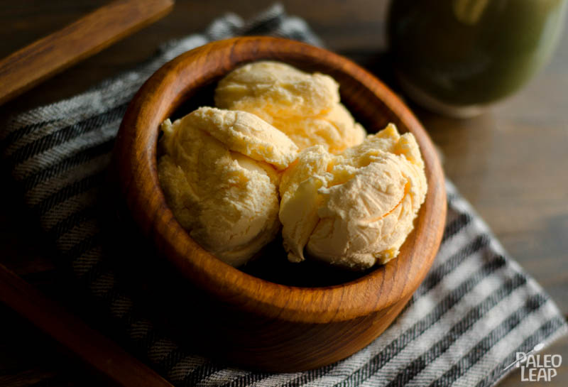 Recipe of the week - Paleo Coconut Vanilla Ice Cream
