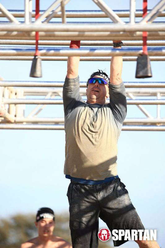 Tim at a Spartan race last weekend