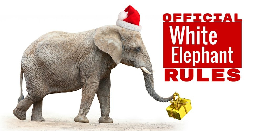 White elephant gift exchange this Saturday!