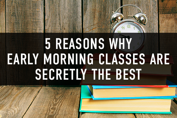 More 6am classes starting in 2018!
