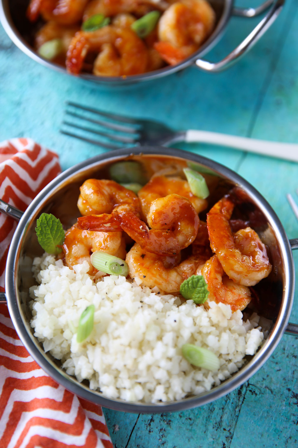 Recipe of the week - Honey Sriracha Shrimp Rice