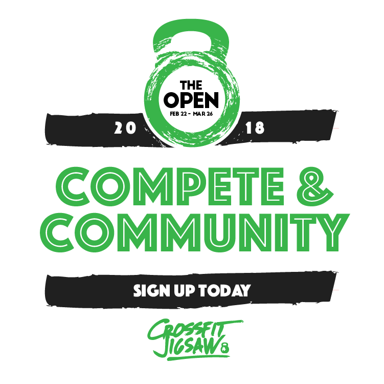 Sign up for the 2018 CrossFit Open!