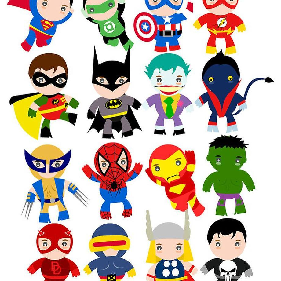 Friday Night Light Theme #2 - Superhero