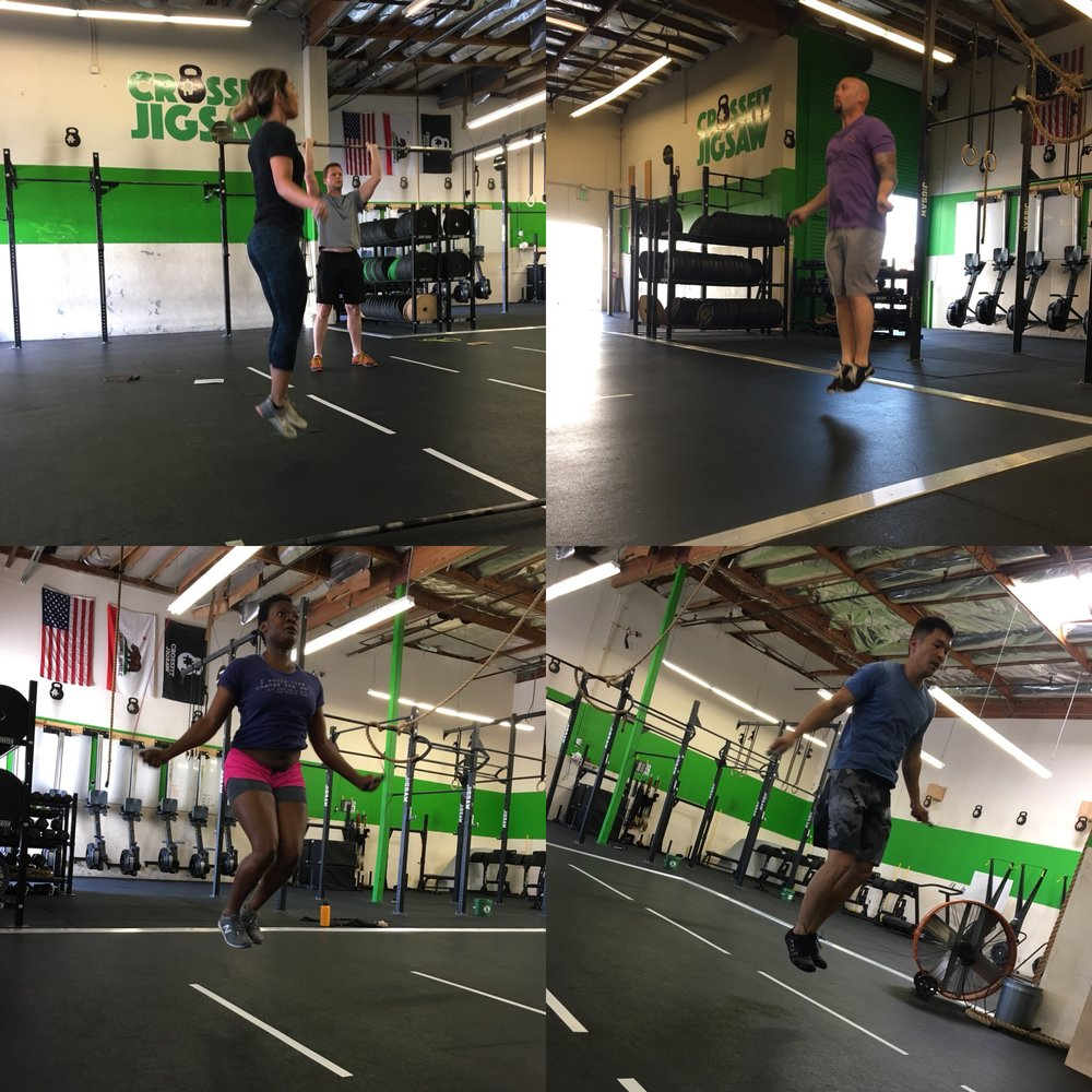 Double unders in action!