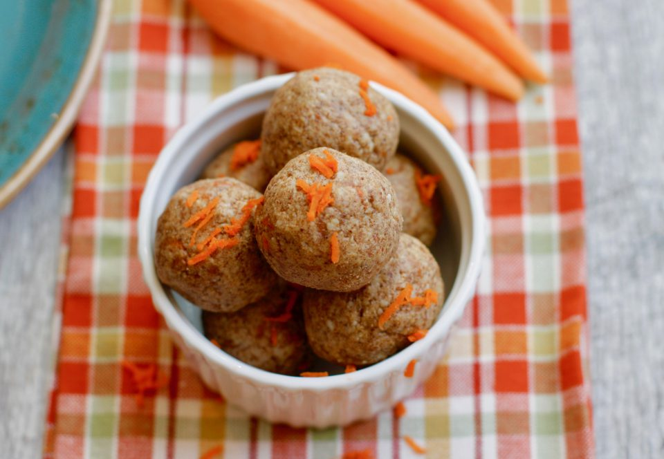 Recipe of the week - Carrot Cake Protein Balls