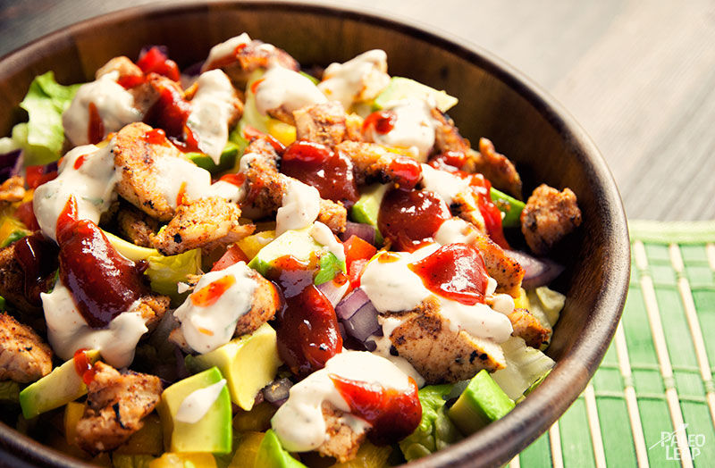 Recipe of the week - BBQ Chicken Salad