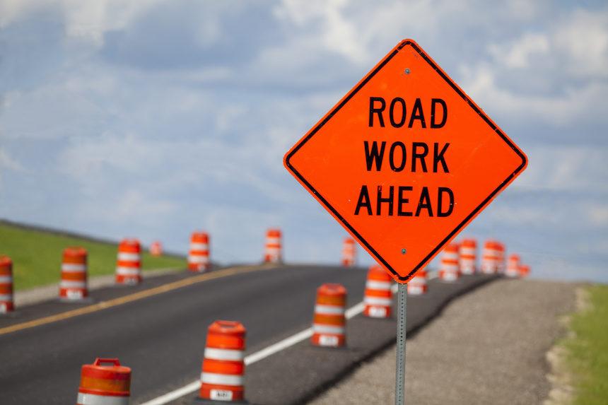Road work on 09/27