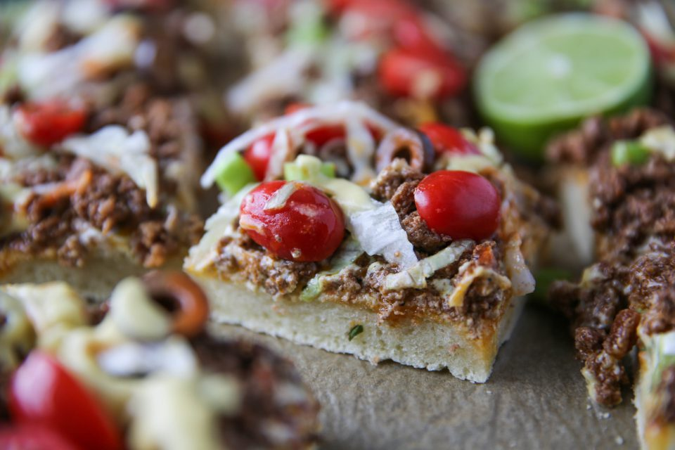 Recipe of the week - Taco Pizza