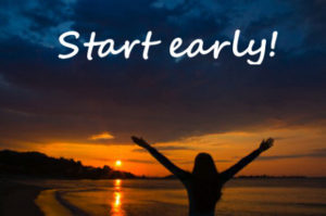 5:30am classes start today!