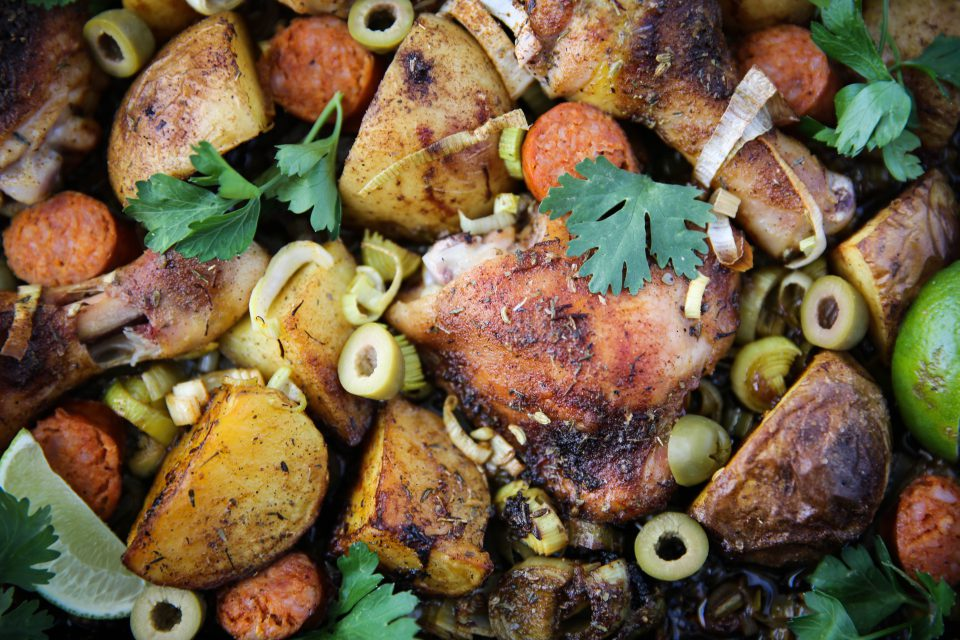 Recipe of the week - Sheet Pan Spanish Chicken and Potato