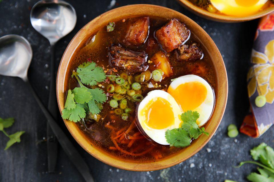 Recipe of the week - Instapot Pork Ramen