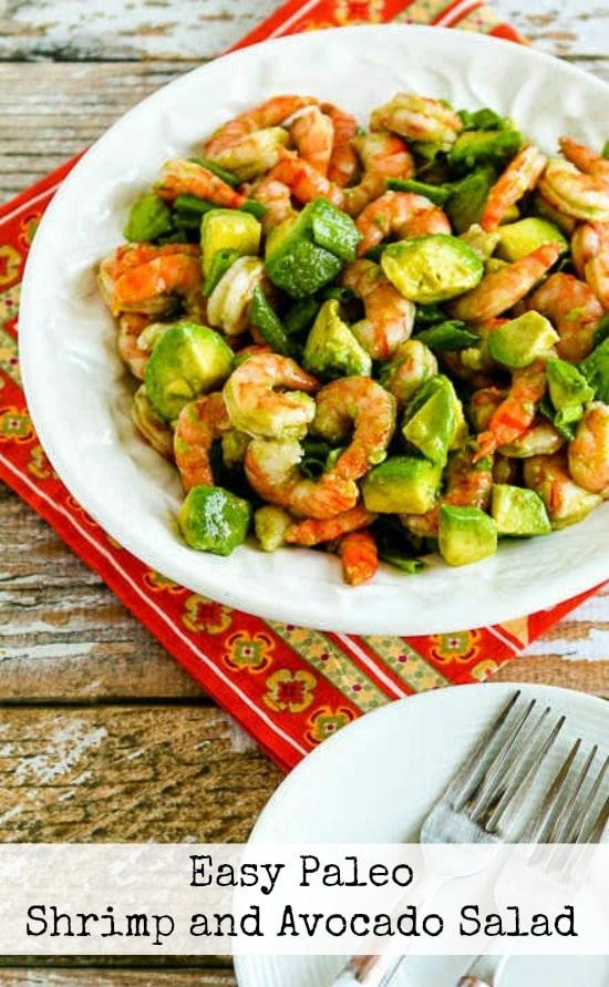 Recipe of the week - Shrimp and Avocado Salad