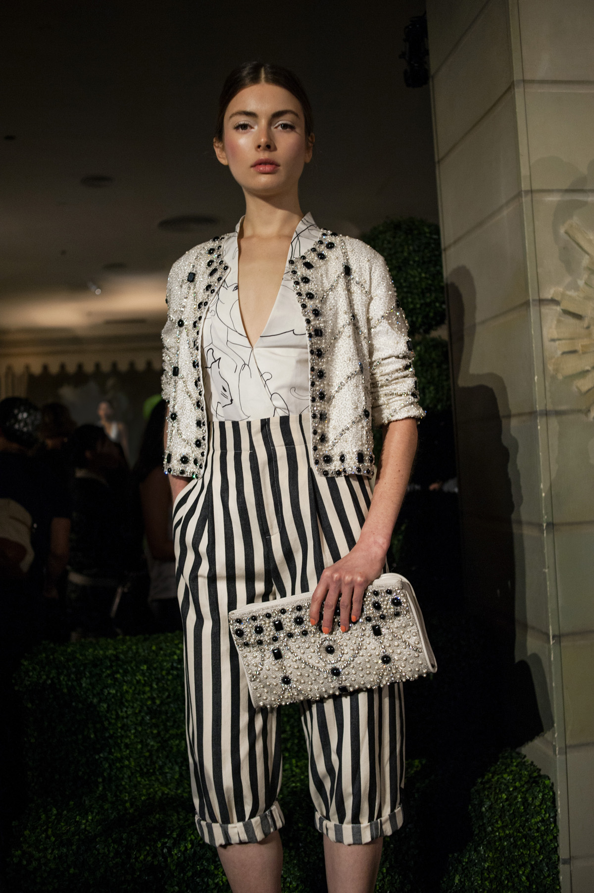 ALICE AND OLIVIA Spring/Summer 2015 New York Fashion Week Presentation