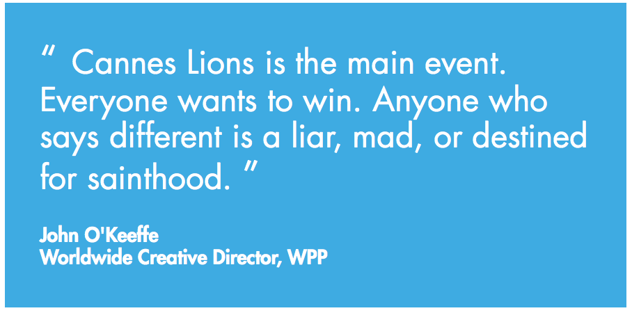 Cannes Lion Silver Award winner jodi jones