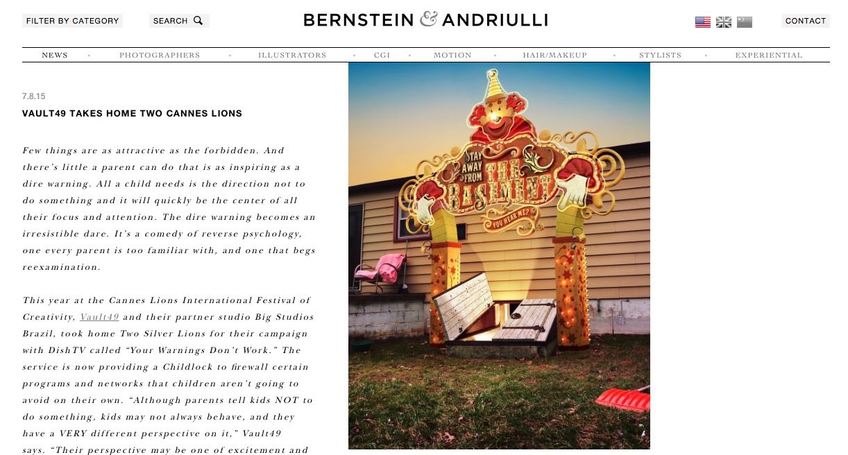 Jodi Jones bernstein Andriulli canne lions