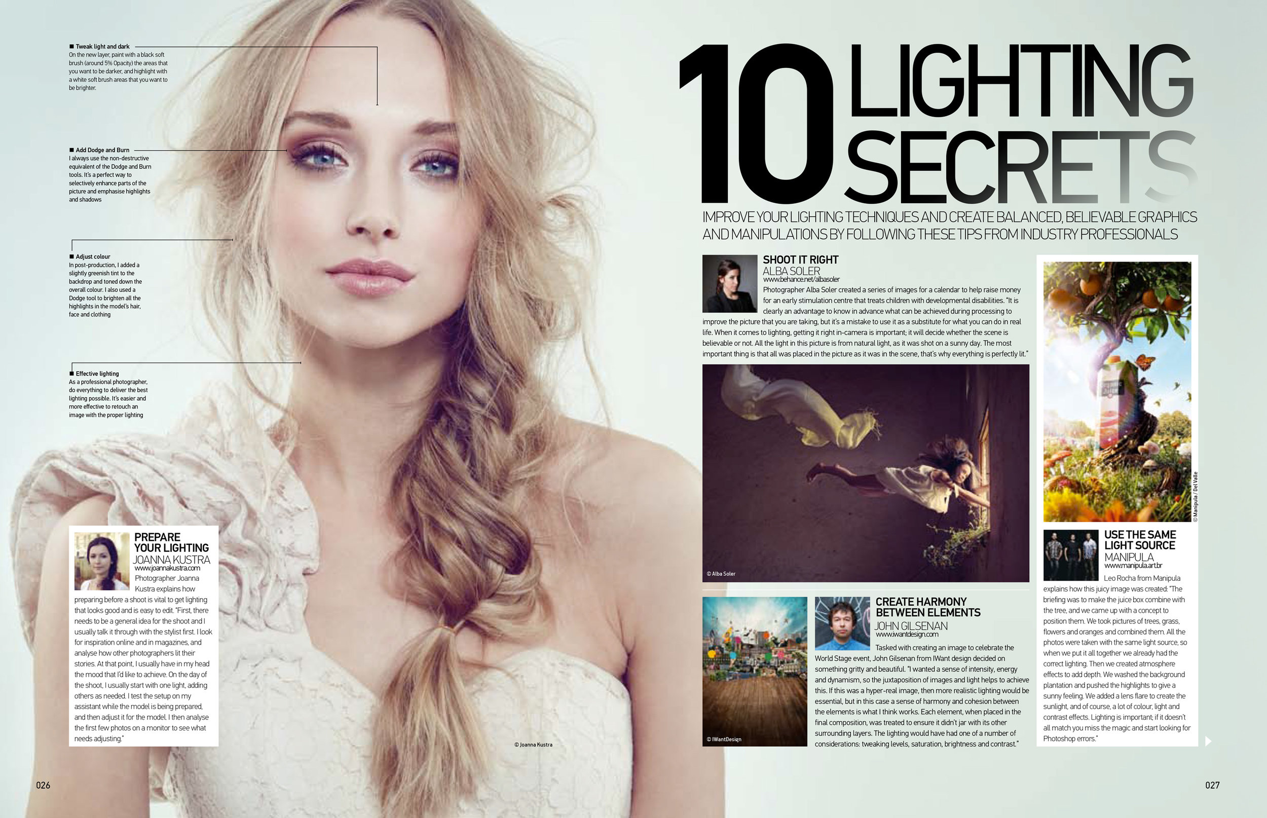 Advanced photoshop lighting secrets article Part 1