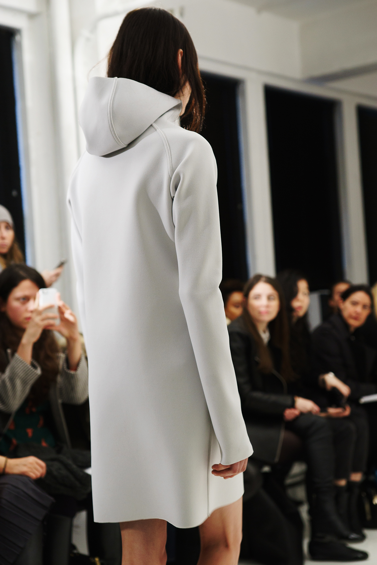 John Patrick Organics at Mercedes-Benz Fall 2014 Fashion Week