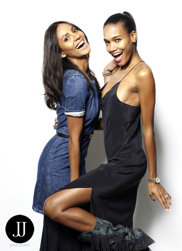 EMANUELA DE PAULA and ARLENIS SOSA photographed by fashion photo