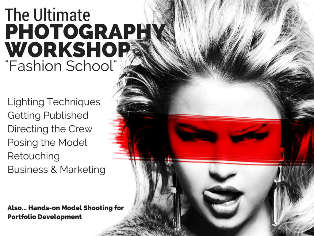 Photography workshop Los angeles miami nashville new york