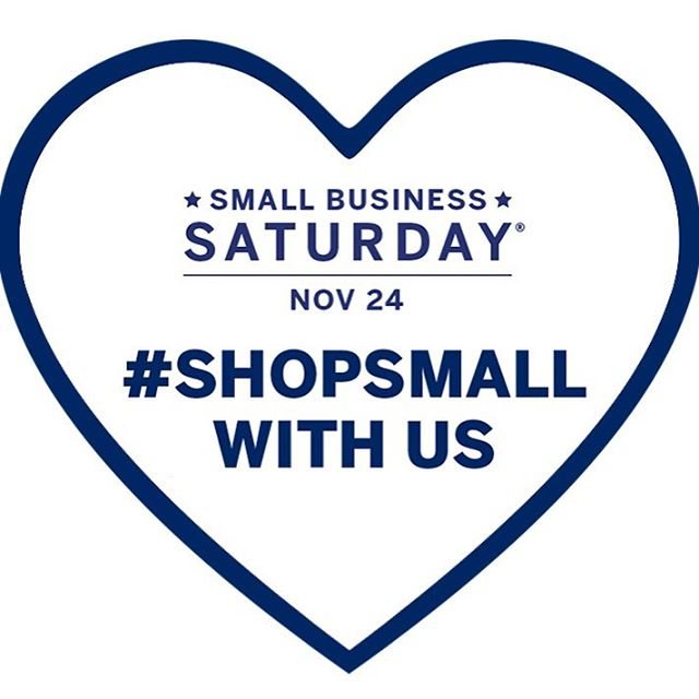 Support a small business today. Shop small business Saturday and save 15% using code SBS15.