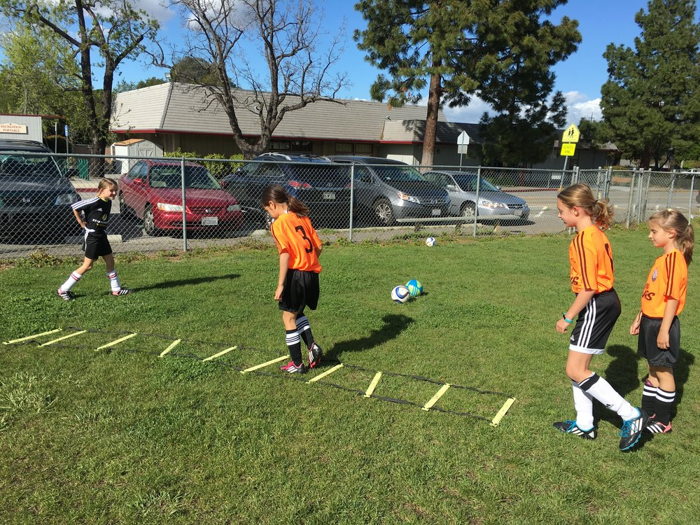 A Striker Session On At Redwood Middle School!