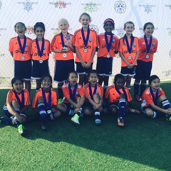 Spurs 07G Blue Win MVLA Bay Area Fall Cup!