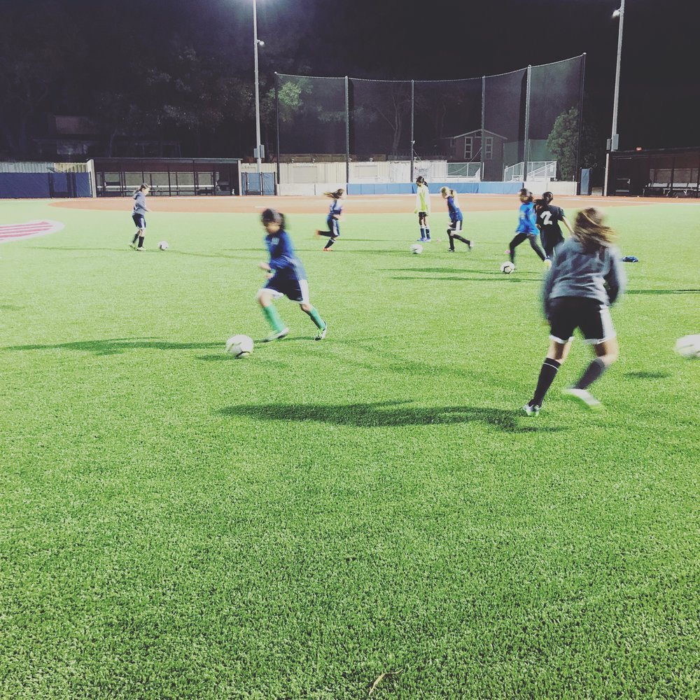 Saratoga Soccer Club camp sessions at Saratoga High School!