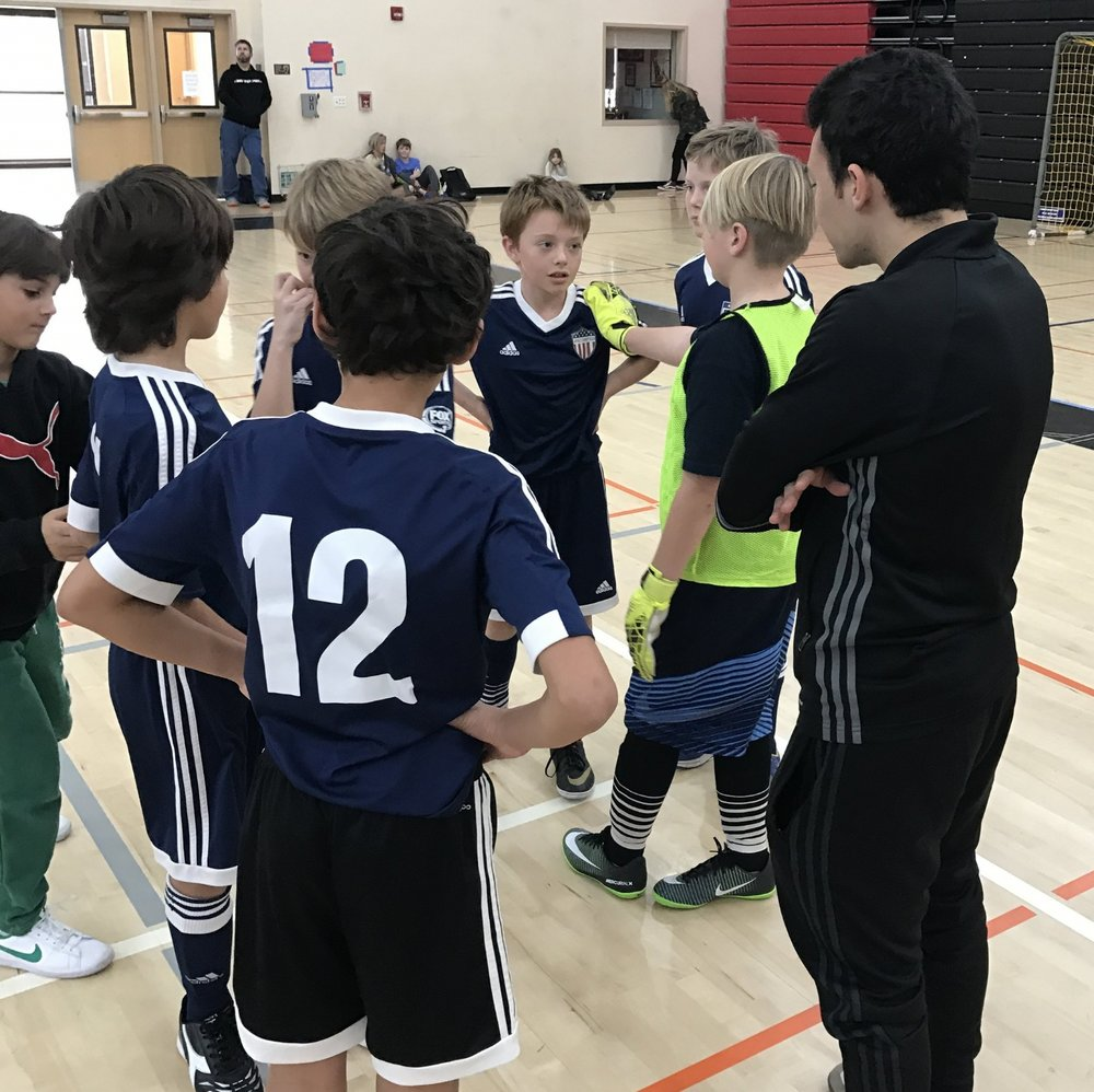 Since 2015 We've Worked With Stanford Palo Alto Futsal To Give Players A Different Challenge In The Winter!